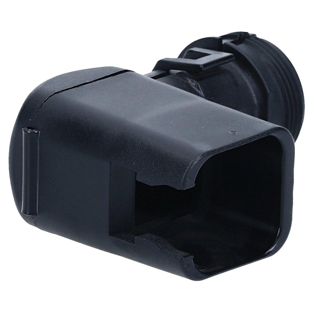 Kappe abgewinkelt mit Zugentlastung für DT06-3S