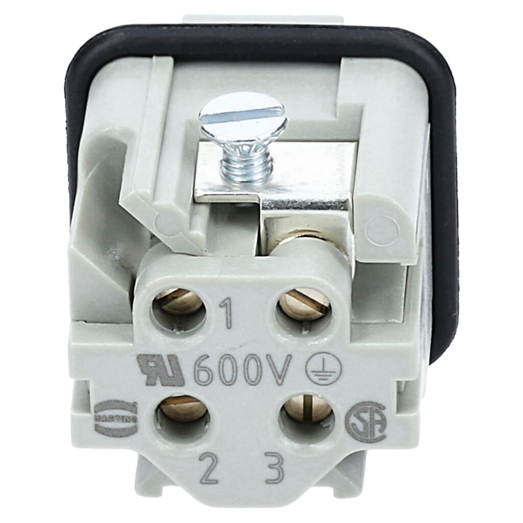 Harting 09200032611 Han 3A male connector on