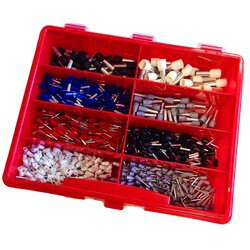Assortment box with insulated end sleeves