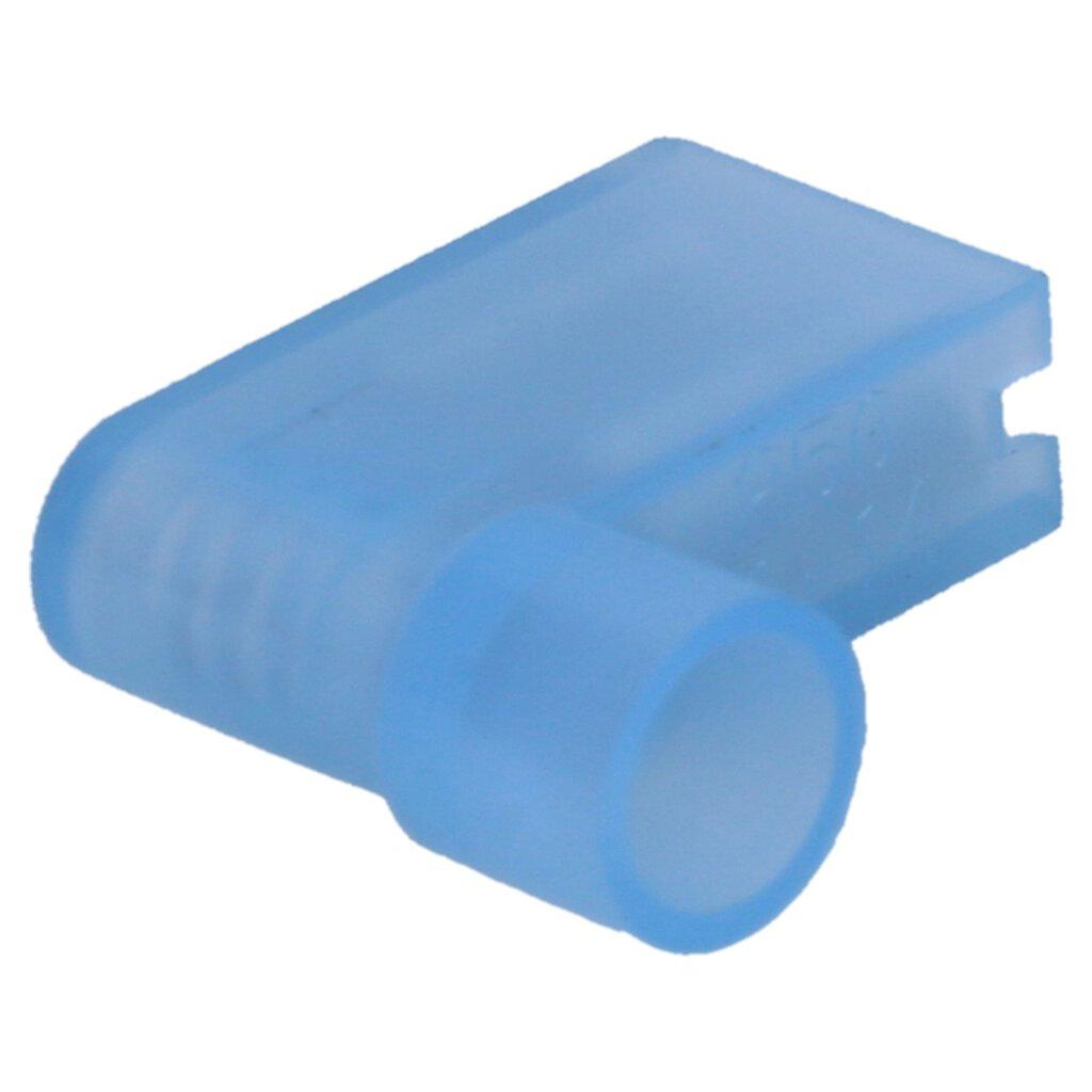 0,06 EUR//Stück 100 vollisolierte Flachsteckhülsen 2,8mm blau 1,5 bis 2,5