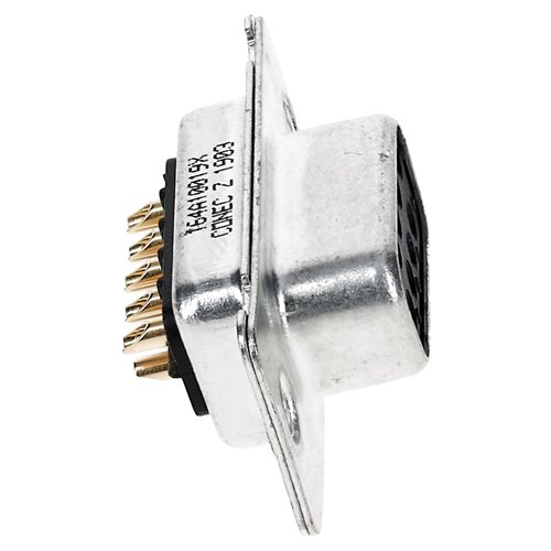 D-sub 9-pin female connector